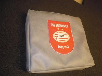 Psv tas voor lekker zacht zitten tijdens de wedstijd met logo